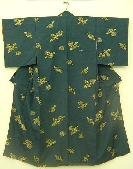 Kimono japonais vert galerie tao for Mobilier japonais traditionnel