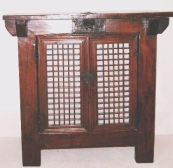 Coffre coreen ancien meuble a riz galerie tao for Mobilier japonais ancien