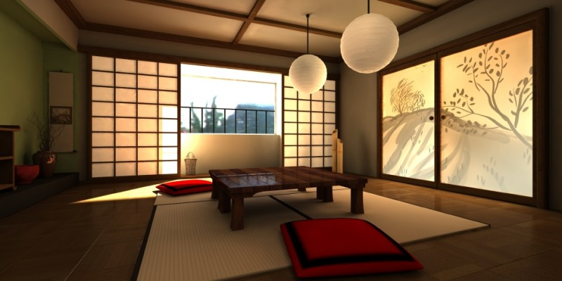 Chambre ryokan galerie tao for Deco chambre japonaise