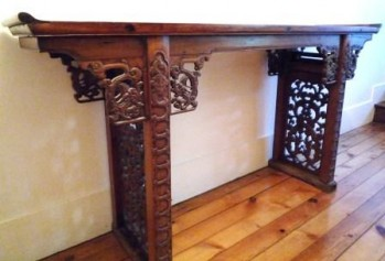CONSOLE CHINOISE ANCIENNE HETAOMU