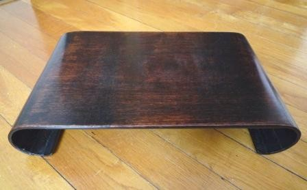 objet japonais socle zitan galerie tao. Black Bedroom Furniture Sets. Home Design Ideas