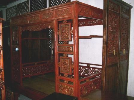 Mobilier chinois ancien grand lit baldaquin galerie tao for Mobilier japonais ancien