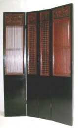 Set of 4 lacquered doors.