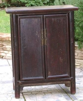 Mobilier chinois ancien petit cabinet galerie tao for Meuble cabinet chinois